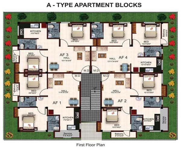 Suncity Floor Plan